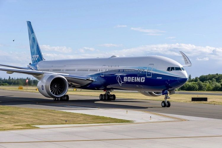 Boeing 777X завершил первый испытательный полет