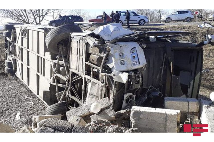 Three family members dead, many others injured as tourist bus crashes in Azerbaijan  - VIDEO - UPDATED