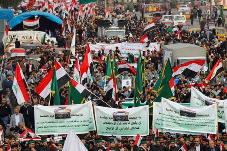 СМИ: не менее 12 участников протестов погибли за два дня манифестаций в Ираке