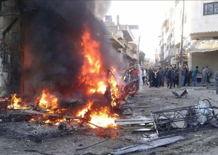 Suriyada terror nəticəsində 8 nəfər ölüb, 20-dən çox insan yaralanıb