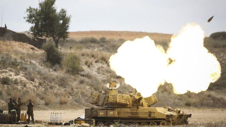 İsrail Qəzzadakı Həmasın döyüş postuna hava zərbələri endirib