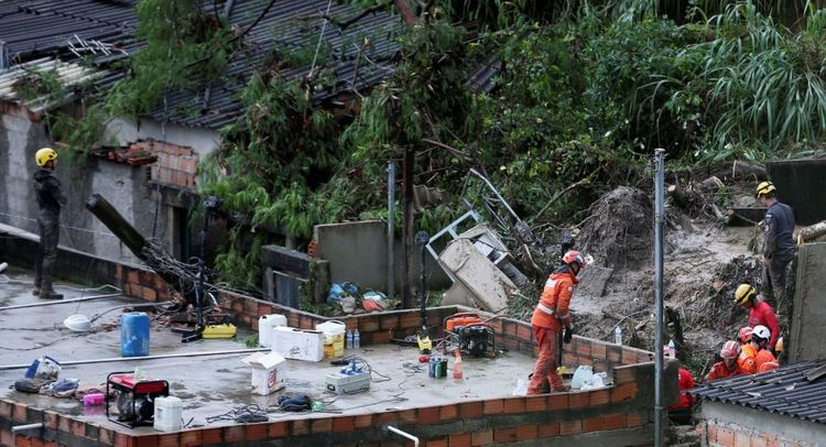 Death Toll From Rainstorms in Brazil Rises to 53