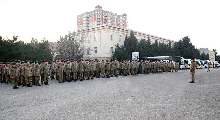 Azərbaycan Ordusunun hazırlığı yoxlanılır