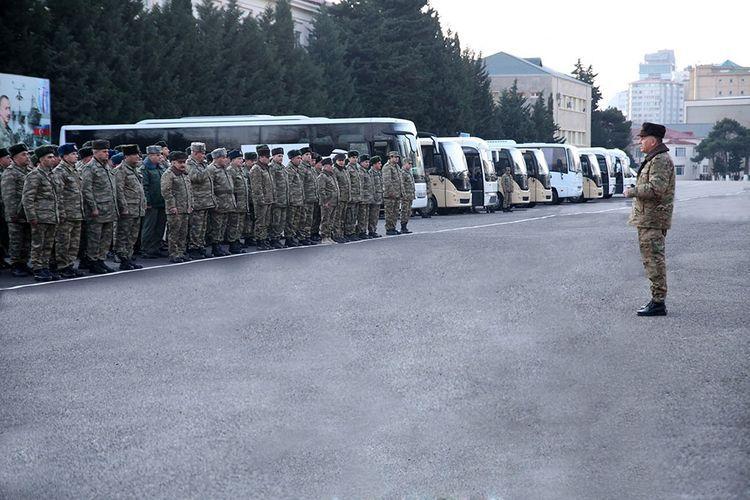Проверяется готовность войск азербайджанской армии