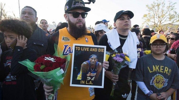 US mourns basketball legend Kobe Bryant