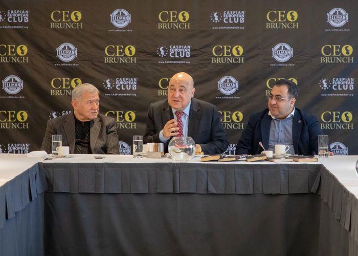 Caspian European Club возобновляет проведение CEO Brunch