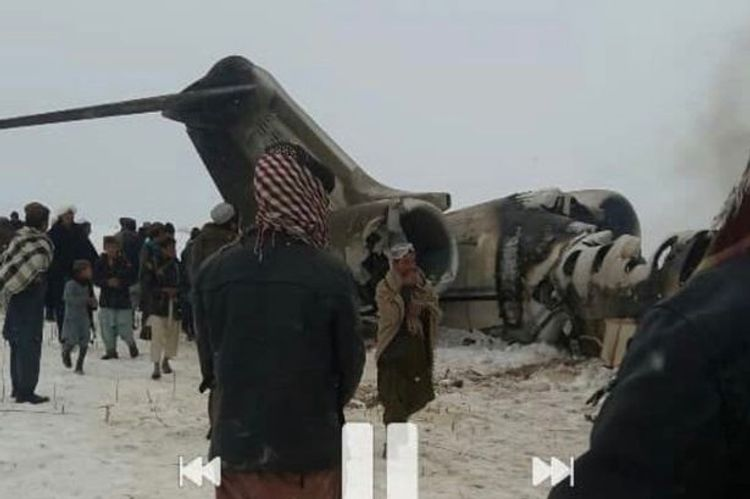 US military says it is investigating plane crash in Afghanistan - VIDEO