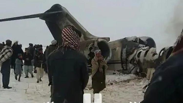 """""""Taliban"""" təyyarənin vurulmasına görə məsuliyyəti üzərinə götürüb"""