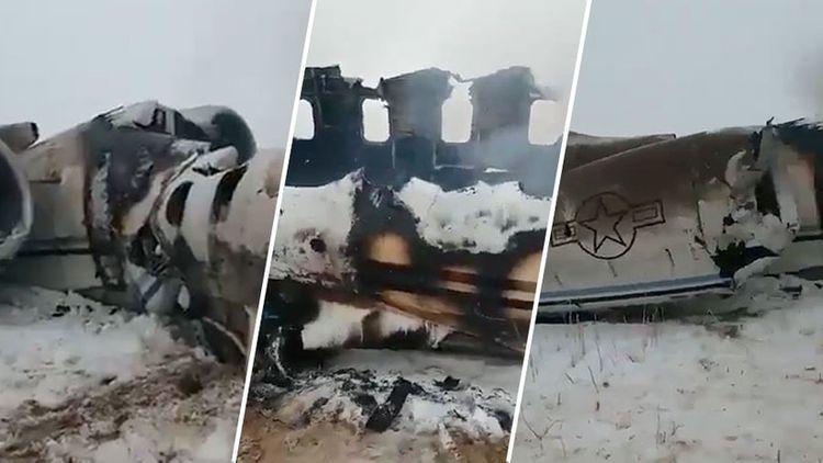 У США нет данных о том, что разбившийся в Афганистане самолет был сбит