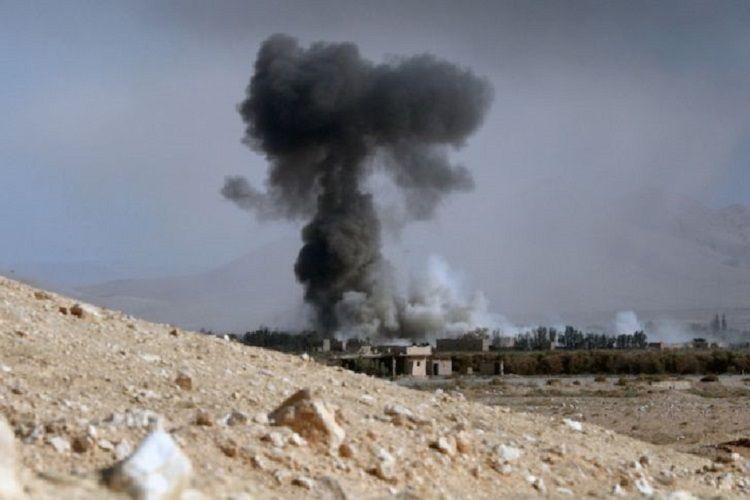 Terrorçular Suriyadakı neft anbarına hücum edib