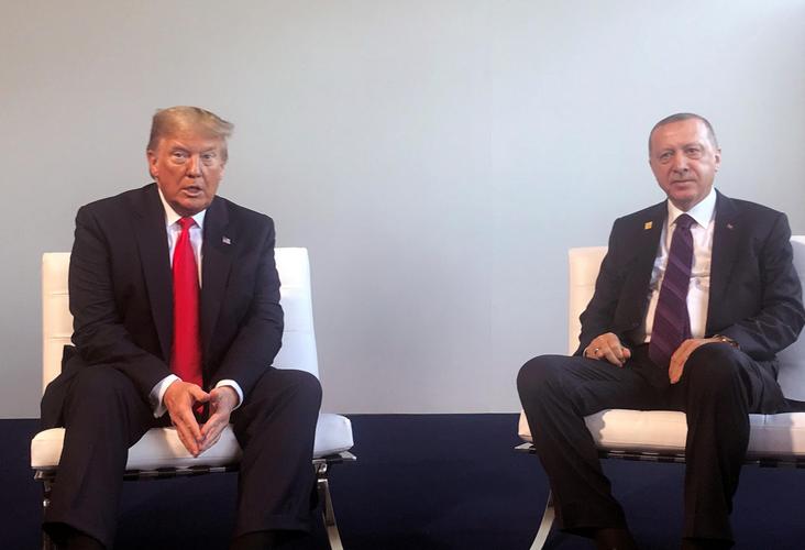 Trump discusses Syria, Libya with Turkey