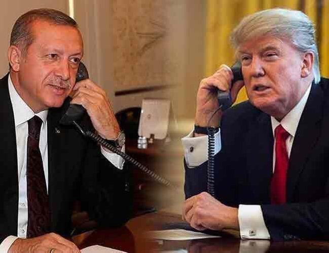 Trump expressed condolences over the earthquake in Turkey