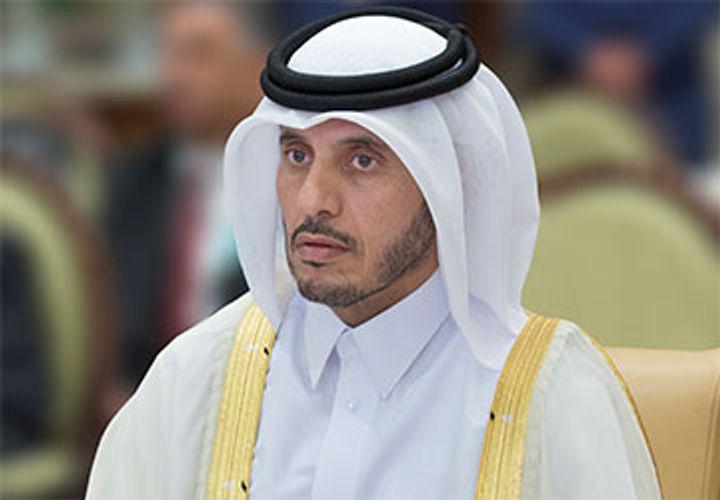 Qatari emir accepts prime minister