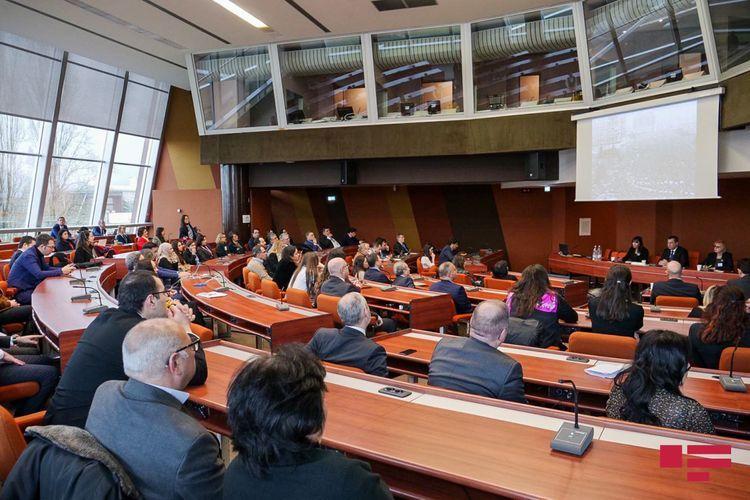 В ПАСЕ прошло мероприятие, посвященное 30-й годовщине трагедии 20 Января