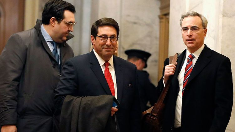 Trump Legal Team concludes Impeachment Trial opening arguments