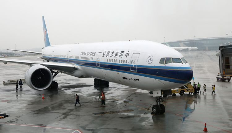 China Southern Airlines suspends flights on  Guangzhou - Baku