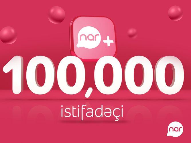 Количество пользователей приложения «Nar+» превысило 100 тысяч