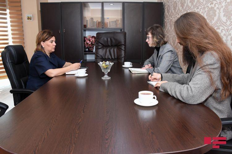 OSCE ODIHR EOM's media analyst meets head of APA Group Vusala Mahirgizi