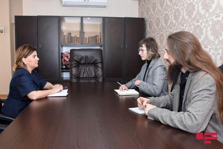 Медиа-аналитик Наблюдательной миссии БДИПЧ ОБСЕ встретилась с Вюсалей Махиргызы