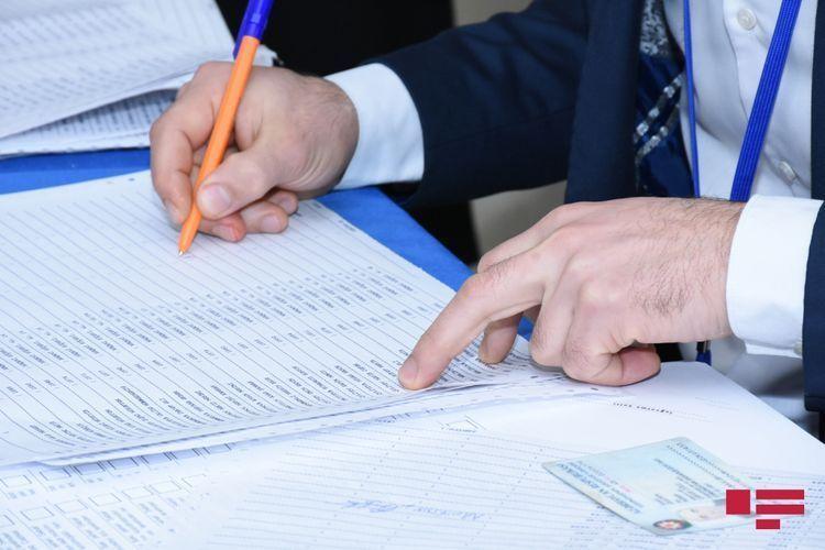 Deputatlığa namizədliyini geri götürənlərin sayı 312 nəfərə çatıb