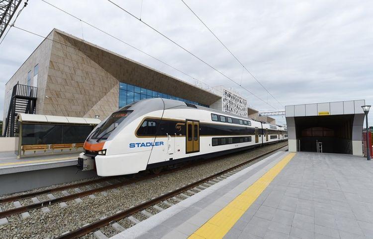 Number of trips of Baku-Pirshaghi-Baku electric trains increased