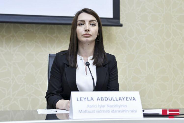 Лейла Абдуллаева: Понятия «народ Карабаха», на которое ссылается МИД Армении, не существует