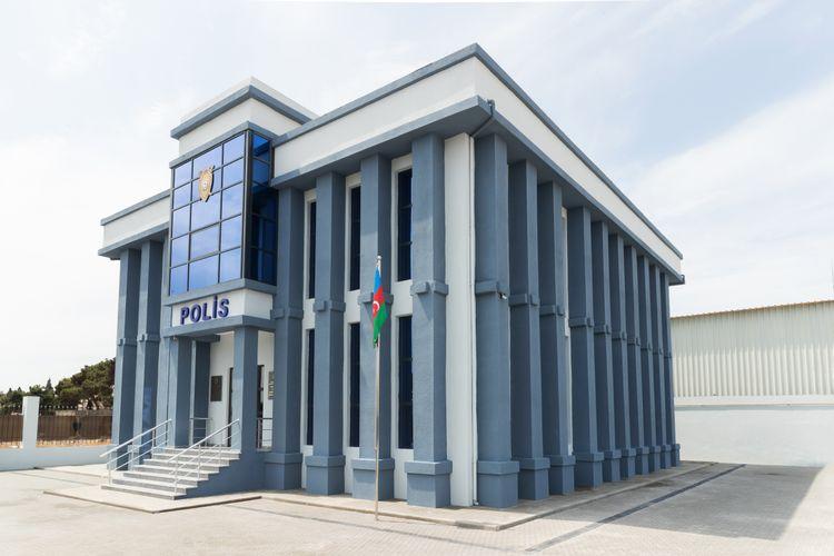 Bakıda polis idarəsi və polis bölməsinin yeni inzibati binalarının açılışı olub
