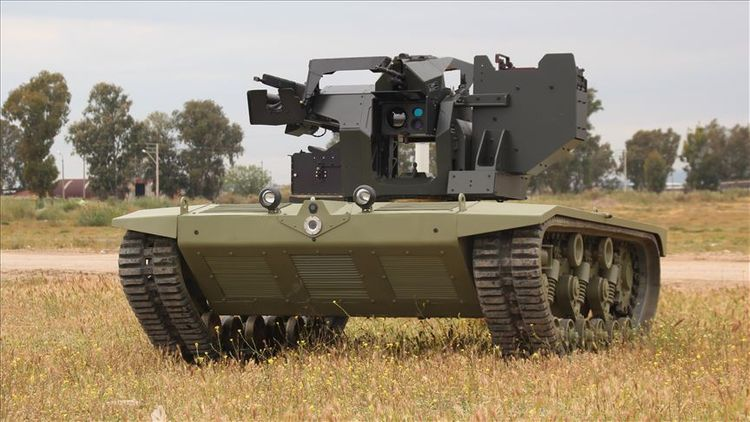 Turkish firms to produce unmanned mini-tank