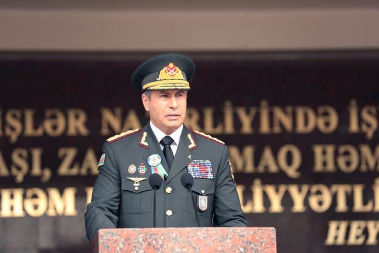 Polis Akademiyasında buraxılış mərasimi keçirilib - FOTO