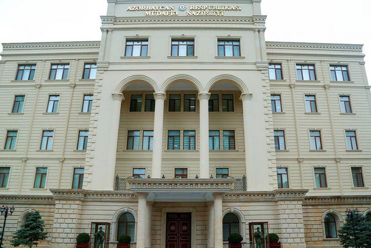 Минобороны: Некоторые подразделения азербайджанской армии участвуют в контроле за соблюдением карантинного режима
