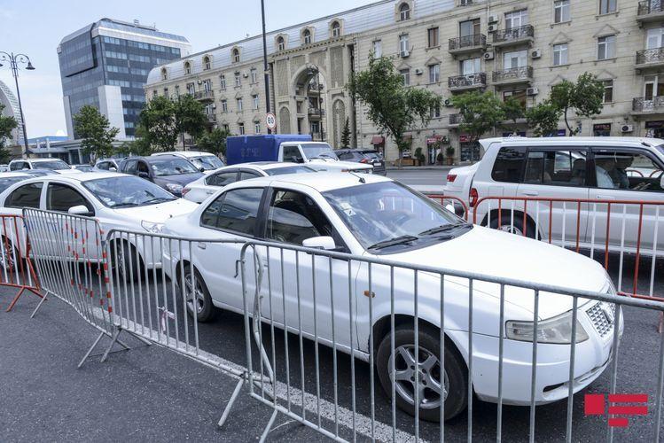 Шахмар Мовсумов: Из-за постов возникали заторы в городе