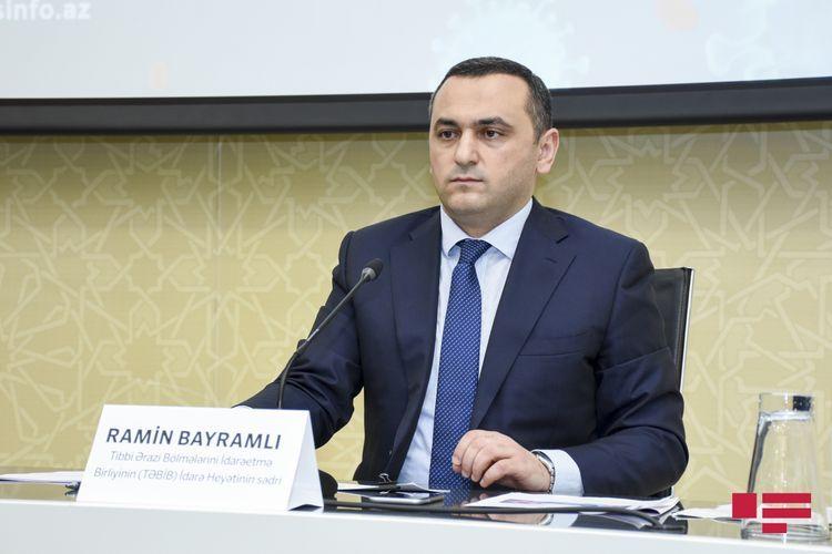 Председатель TƏBİB: Более 600 пациентов с симптомом «матового стекла» в легких проходят лечение