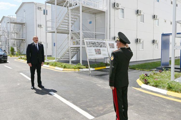 Президент Ильхам Алиев и первая леди Мехрибан Алиева приняли участие в открытии госпиталя модульного типа в Хатаинском районе Баку - <span class='red_color'>ОБНОВЛЕНО</span>