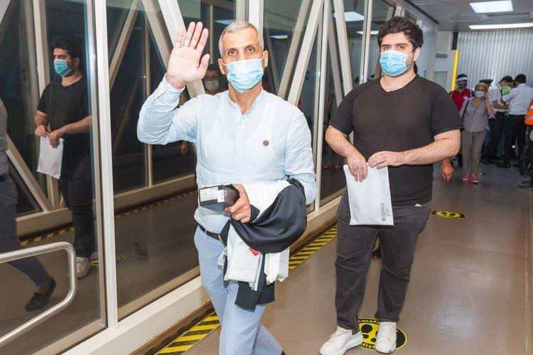 AZAL performed a charter flight from Dubai - PHOTO