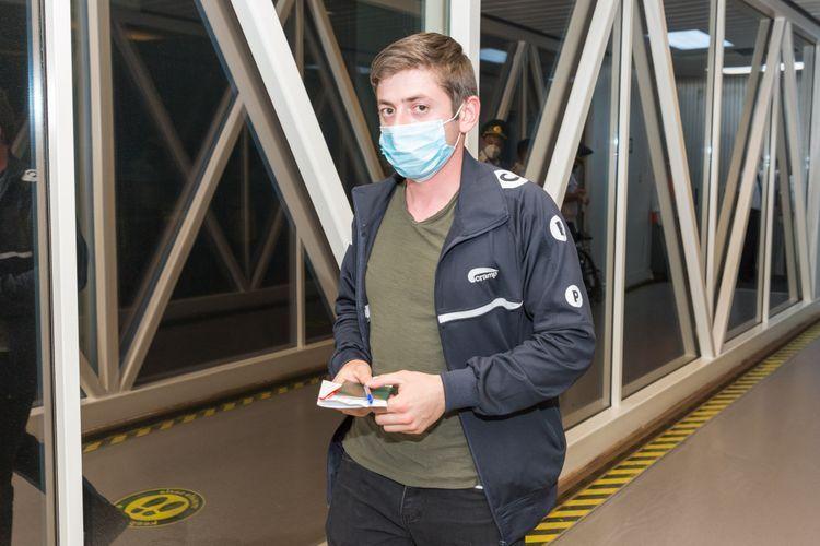 AZAL выполнил чартерный рейс из Киева - <span class='red_color'>ФОТО</span>