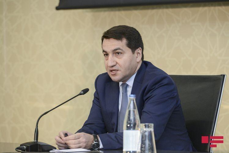 Хикмет Гаджиев: Сегодня по инициативе президента Ильхама Алиева будет проведена специальная сессия Генассамблеи ООН