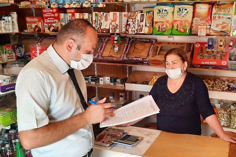 В 74 объектах общественного питания и магазинах выявлено несоблюдение методических указаний в связи с коронавирусом
