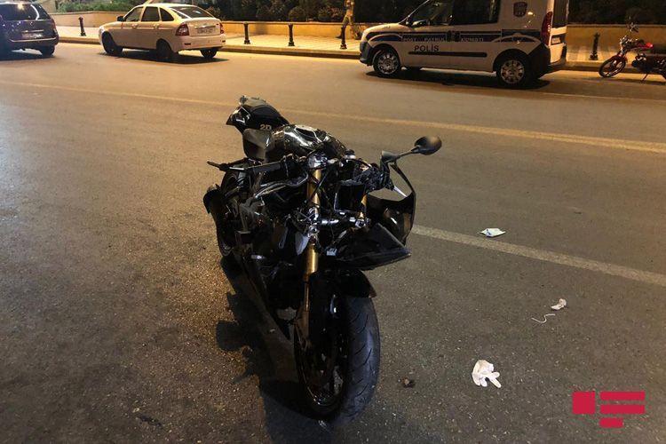Bakıda motosikletlə vurulan qadının ölməsi faktı ilə bağlı cinayət işi başlanıb