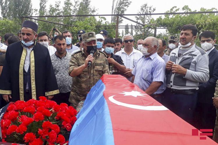 Azərbaycan Ordusunun şəhid olan hərbçisi Ağstafada dəfn edilib - <span class='red_color'>YENİLƏNİB</span>