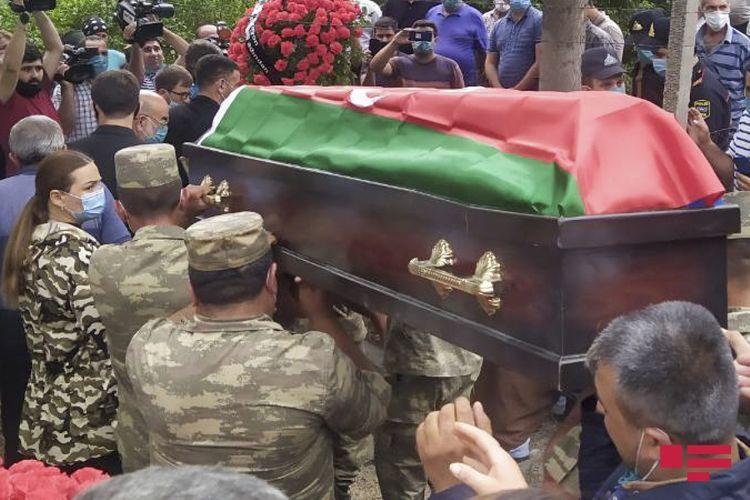 Martyred Azerbaijani serviceman buried in Tovuz region- PHOTO - UPDATED