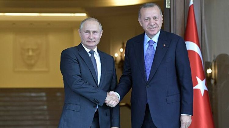 Turkish, Russian presidents discuss developments in Syria, Libya and regional issues over phone
