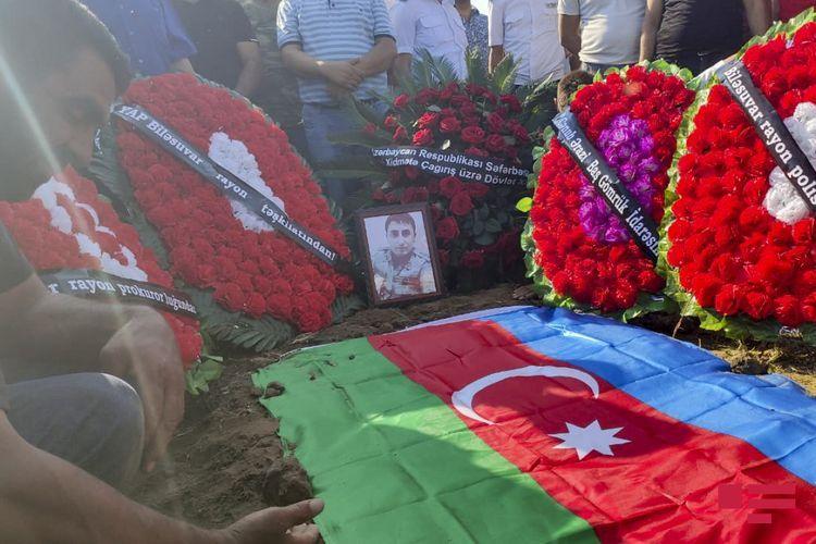 Martyred Azerbaijani serviceman buried - UPDATED