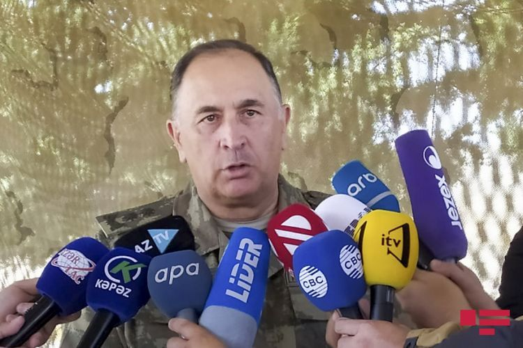 """Deputy Defence Minister: """"General and Colonel of Azerbaijani army martyred"""""""