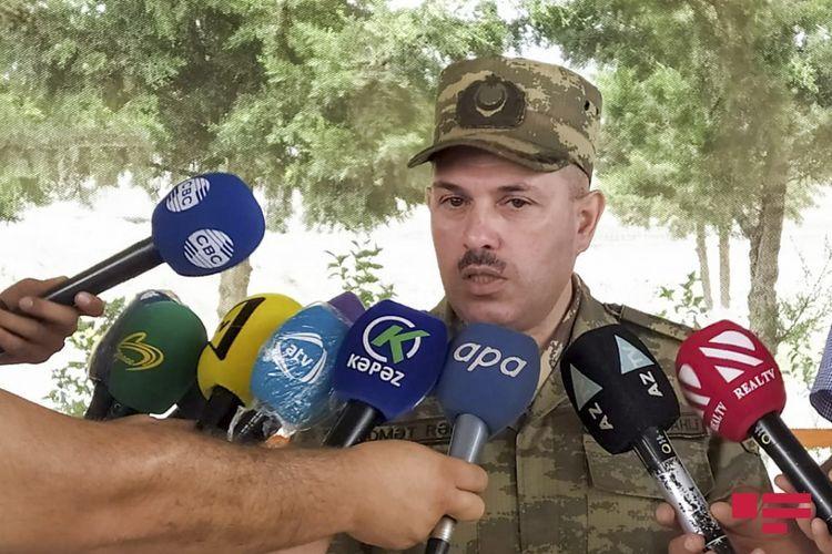 Минобороны Азербайджана распространило заявление в связи с ситуацией на передовой