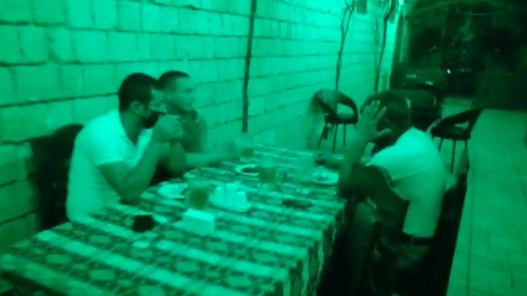 Abşeronda karantin qaydalarını pozan restoran aşkaralanıb, 11 nəfər cərimələnib - <span class='red_color'>FOTO</span>