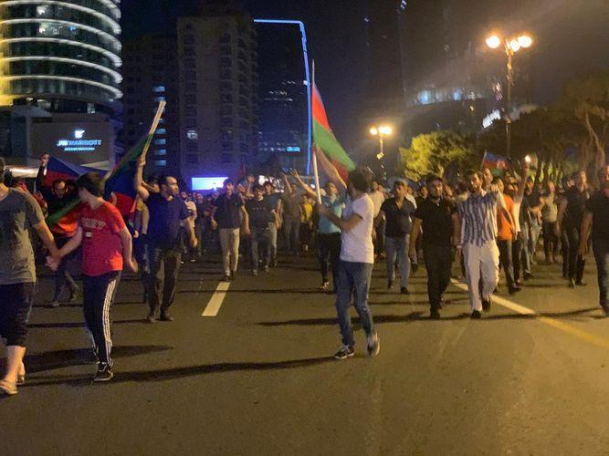 В районах и городах Азербайджана проведены шествия в поддержку армии - <span class='red_color'>ФОТО</span>
