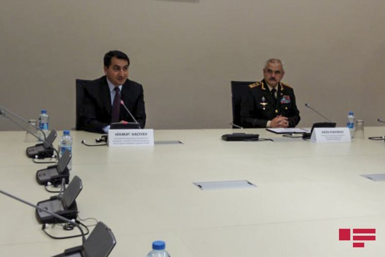 "Hikmet Hajiyev: ""Azerbaijan is ready to take any measures to liberate its lands"""