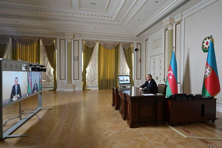 Президент Ильхам Алиев: В первую очередь необходимо оздоровить обстановку в системе Министерства иностранных дел