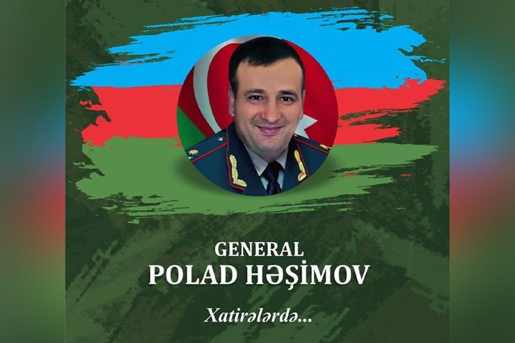 Book about martyred general Polad Hashimov to be published
