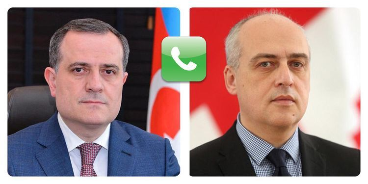 Phone conversation held between ministers of Foreign Affairs of Azerbaijan and Georgia